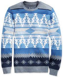 American Rag Men s Zig Zag Geo Sweater  Only at Macy s at Macys