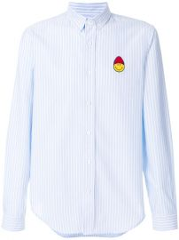 Ami Alexandre Mattiussi Shirt With Smiley Patch at Farfetch