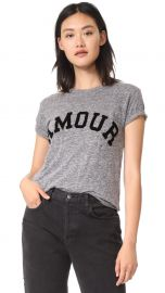 Amour Distressed Tee at Shopbop