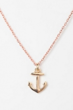 Anchor necklace  at Urban Outfitters