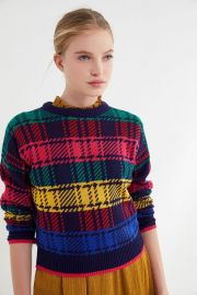 Andi Fitted Crew-Neck Sweater at Urban Outfitters