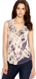 Andi Tie Dye Tank by Rachel Roy at Macys