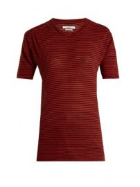 Andreia striped linen-blend T-shirt at Matches