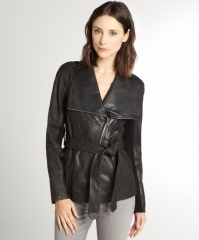 Andrew Marc London 25 Leather Jacket at Bluefly