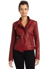 Andrew Marc Wynter Leather Jacket at Saks Fifth Avenue