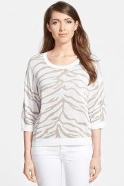 Animal Jacquard Sweater at Nordstrom Rack
