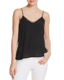 Anine Bing Silk Camisole Top at Bloomingdales
