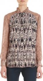 Ann Perkins printed blouse at Barneys