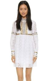 Anna Sui Medallion Embroidery Dress at Shopbop