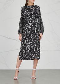 Anna polka-dot silk dress at Harvey Nichols