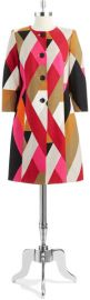 Anne Klein Colorblock Coat at Lord & Taylor