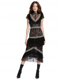 Annetta Dress at Alice + Olivia