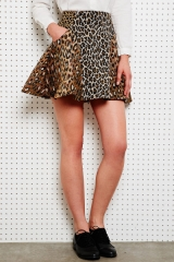 Antipodium Animal Intersection Skirt at Urban Outfitters