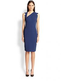 Antonio Berardi - Cady Asymmetrical-Neck Sheath at Saks Fifth Avenue