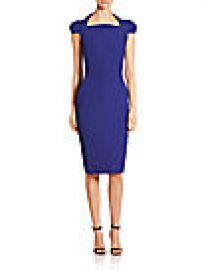 Antonio Berardi - Cady Cap Sleeve Dress at Saks Fifth Avenue