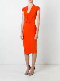 Antonio Berardi Scallop Detail Dress at Farfetch