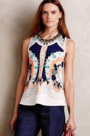 Anzere Print Tank at Anthropologie