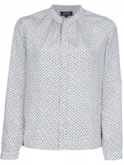 Apc Printed Blouse - at Farfetch
