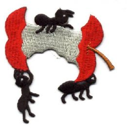Apple - Ants - Picnic - BBQ - Food - Embroidered Iron on Applique Patch Cool Patch at Amazon