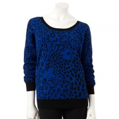 Apt 9 Leopard Sweater at Kohls