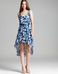 Aqua Dress - Camo High Low at Bloomingdales
