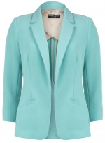 Aqua blazer from Dorothy Perkins at Dorothy Perkins