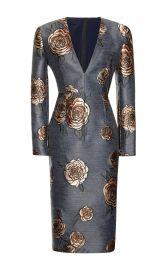 Aquilano Rimondi Floral Embroidered Dress at Moda Operandi