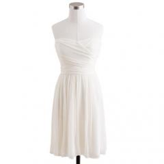 Arabelle Silk Chiffon Dress at J. Crew