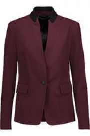 Archer crepe blazer at The Outnet