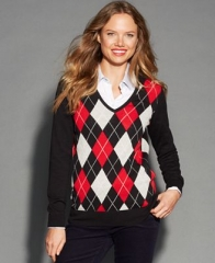 Argyle Sweater by Tommy Hilfiger at Macys