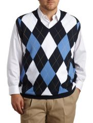Argyle Vest by Harbor Bay at Amazon