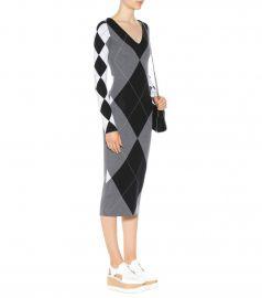 Argyle wool-blend dress by Stella McCartney at Mytheresa