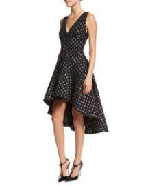 Aria Starlight High-Low Dress Black at Neiman Marcus