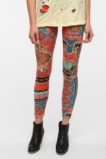 Aria's printed leggings at Urban Outfitters