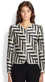 Armani Collezioni - Ikat-Weave Jacket at Saks Fifth Avenue