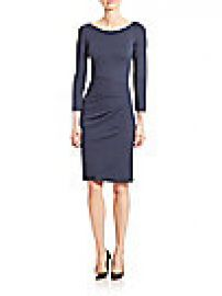 Armani Collezioni - Milano Jersey Ruched Dress at Saks Fifth Avenue