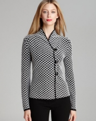 Armani Collezioni Jacket - Diamond Knit at Bloomingdales