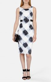 Art Print Stretch Dress at Karen Millen