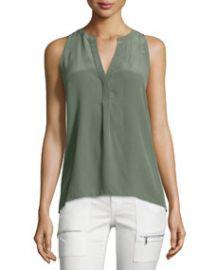 Aruna Sleeveless Silk Blouse at Neiman Marcus