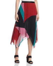 Ashiella Pleated Midi Skirt at Bloomingdales