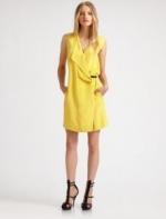 Ashleys yellow dress at Saks at Saks Fifth Avenue