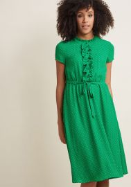 Asking for Ruffle Shirt Dress by Modcloth at Modcloth