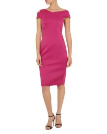 Aspyn Asymmetric Sheath Dress at Bloomingdales