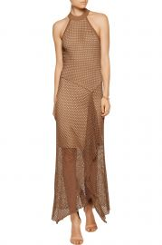 Asymmetric Crochet Knit Midi Dress by Bailey 44 at Nordstrom