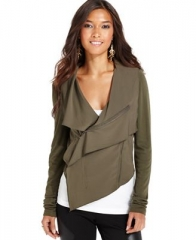Asymmetric Knit Jacket at Macys