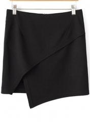 Asymmetric Skirt at She Inside