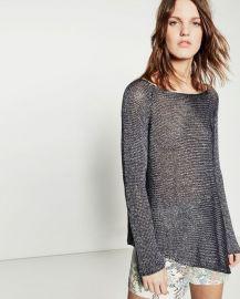 Asymmetric sweater at Zara