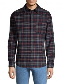 Attic Plaid Button-Down Shirt at Saks Fifth Avenue