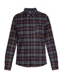 Attic wool-blend shirt at Matches