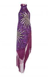 Attico Maxi Fringe Dress at Moda Operandi
